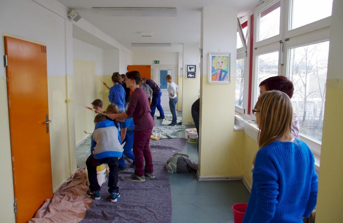Schulprojekt Renovierung